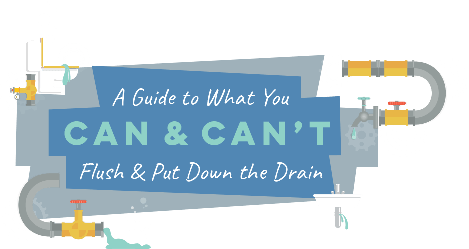 A Guide to What You Can & Can't Put Down the Drain