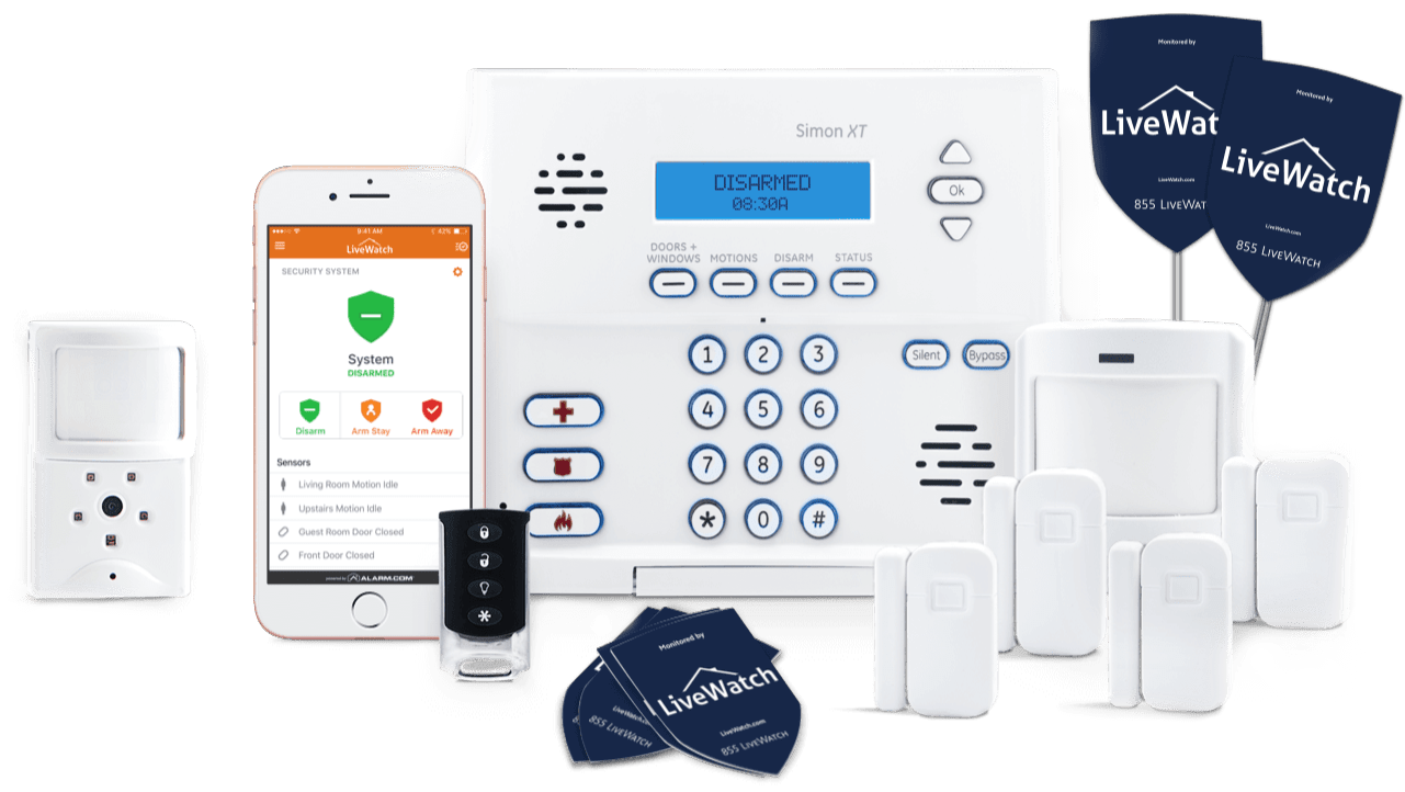 Livewatch Home Security 2019 Packages Amp Pricing 1 800