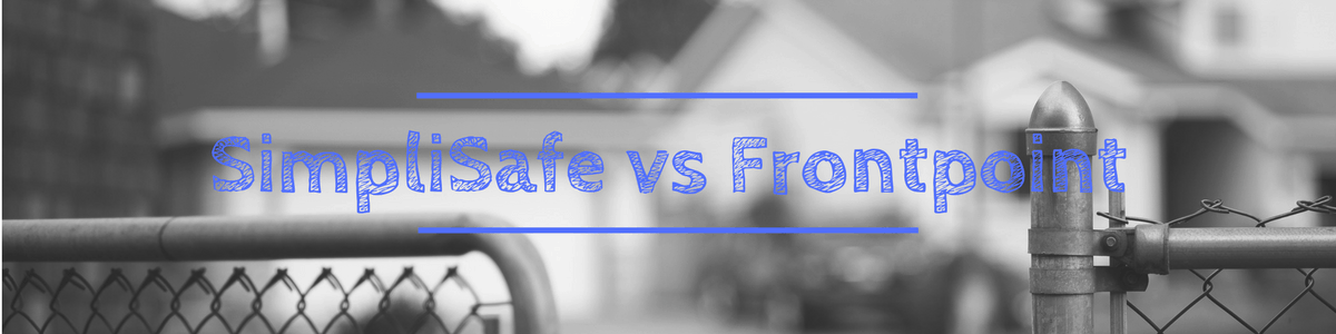 simplisafe vs frontpoint comparison