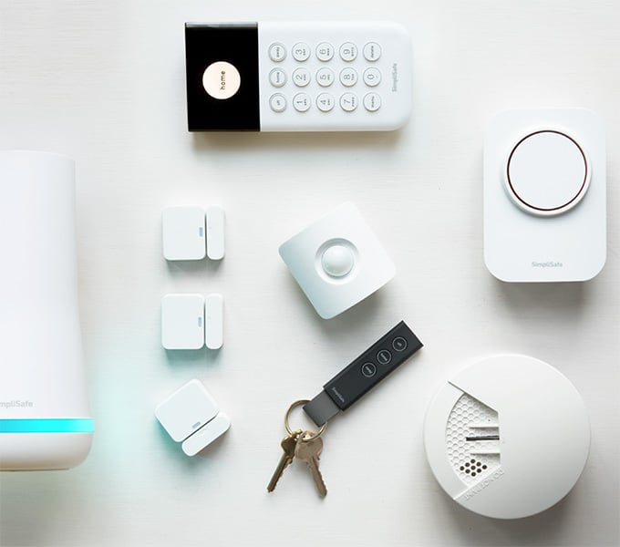 SimpliSafe The Hearth Package