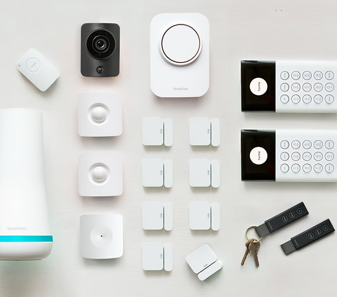 Best Self Monitored Home Security System Of 2019 Non