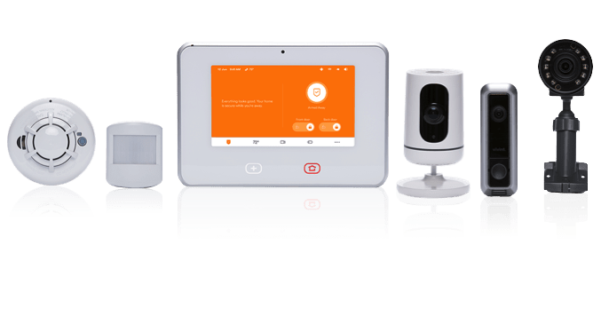 Vivint System with Accessories