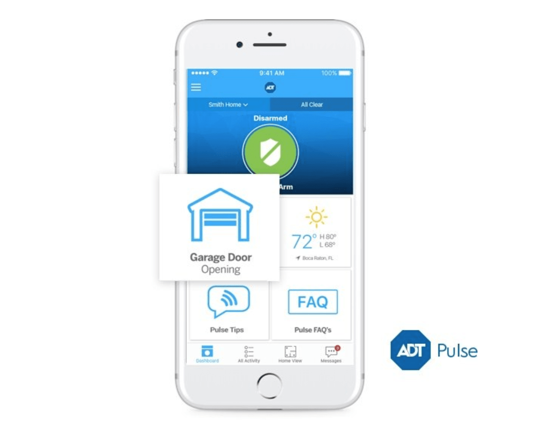 ADT Pulse Garage Door Control