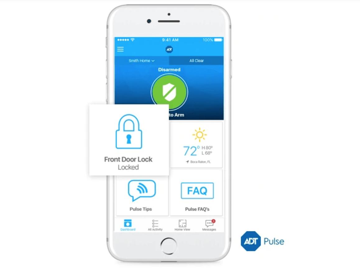 ADT Pulse Remote Door Lock