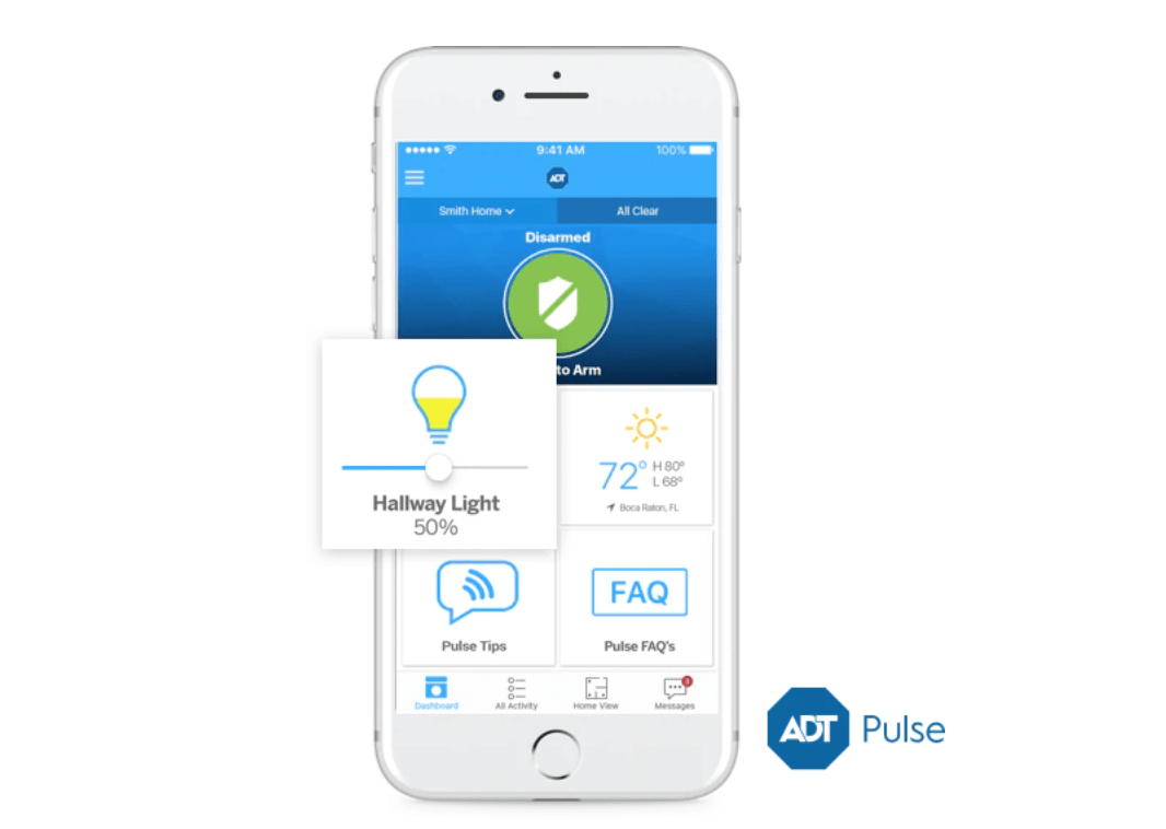 ADT Pulse Remote Light Control