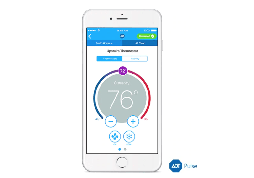 ADT Pulse Smart Thermostat