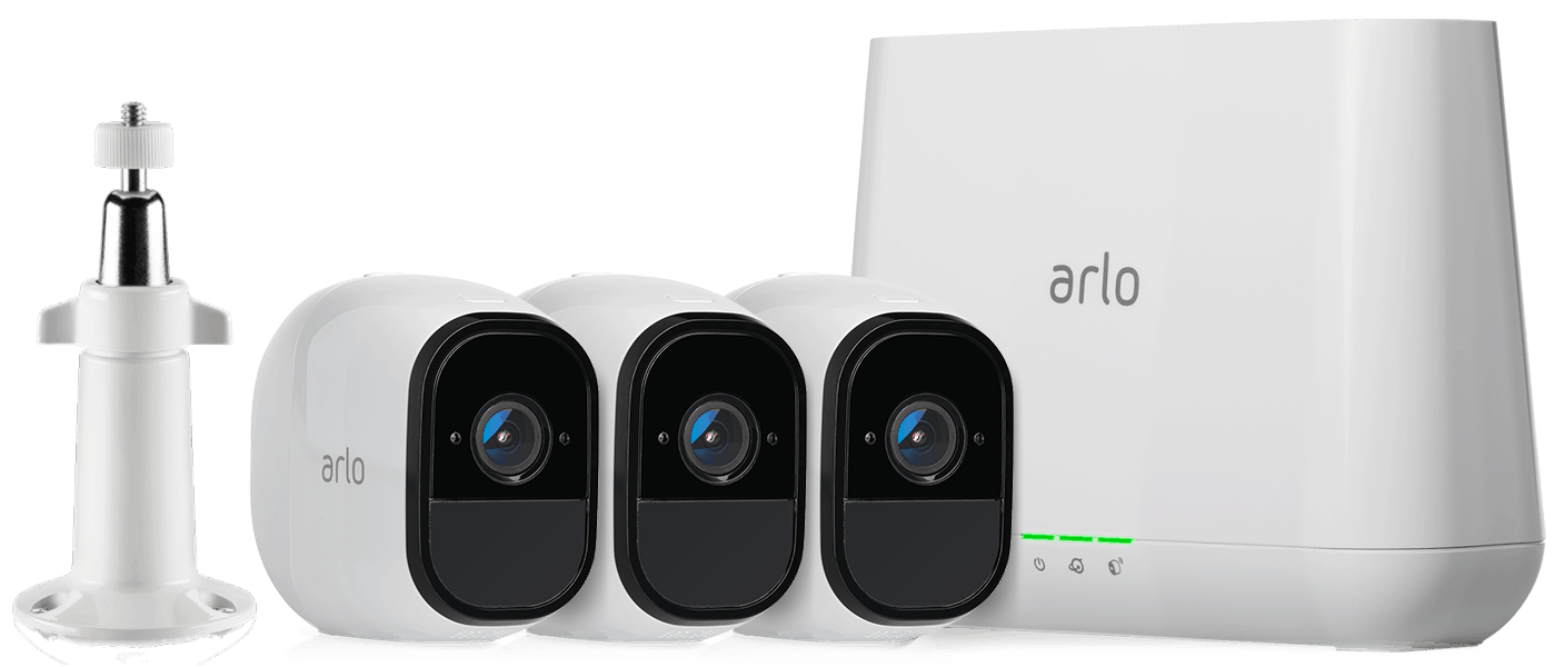 Arlo Cameras with Base Station
