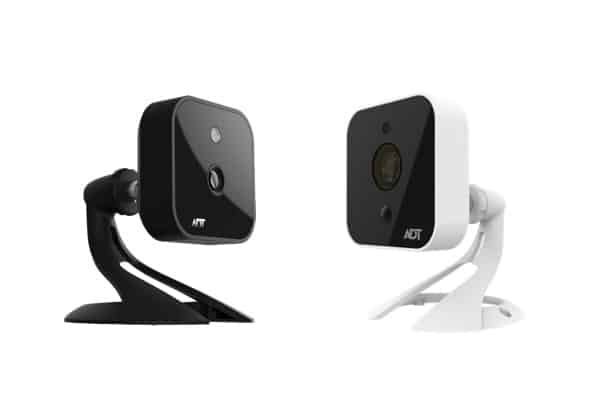 ADT Indoor Camera (left) and Outdoor Camera (right)
