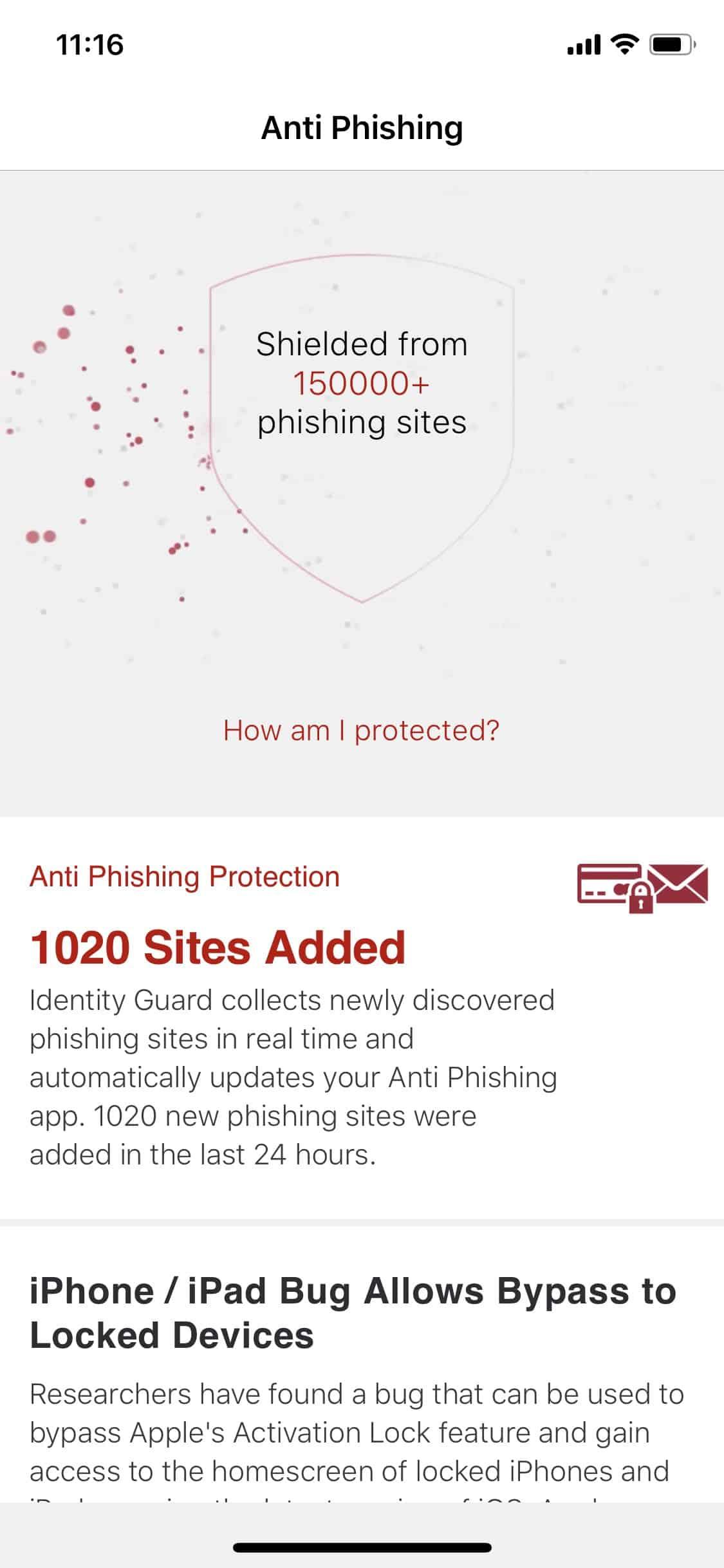 Identity Guard Anti Phishing