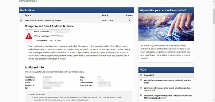 Zander Insurance - Compromised Data Alert