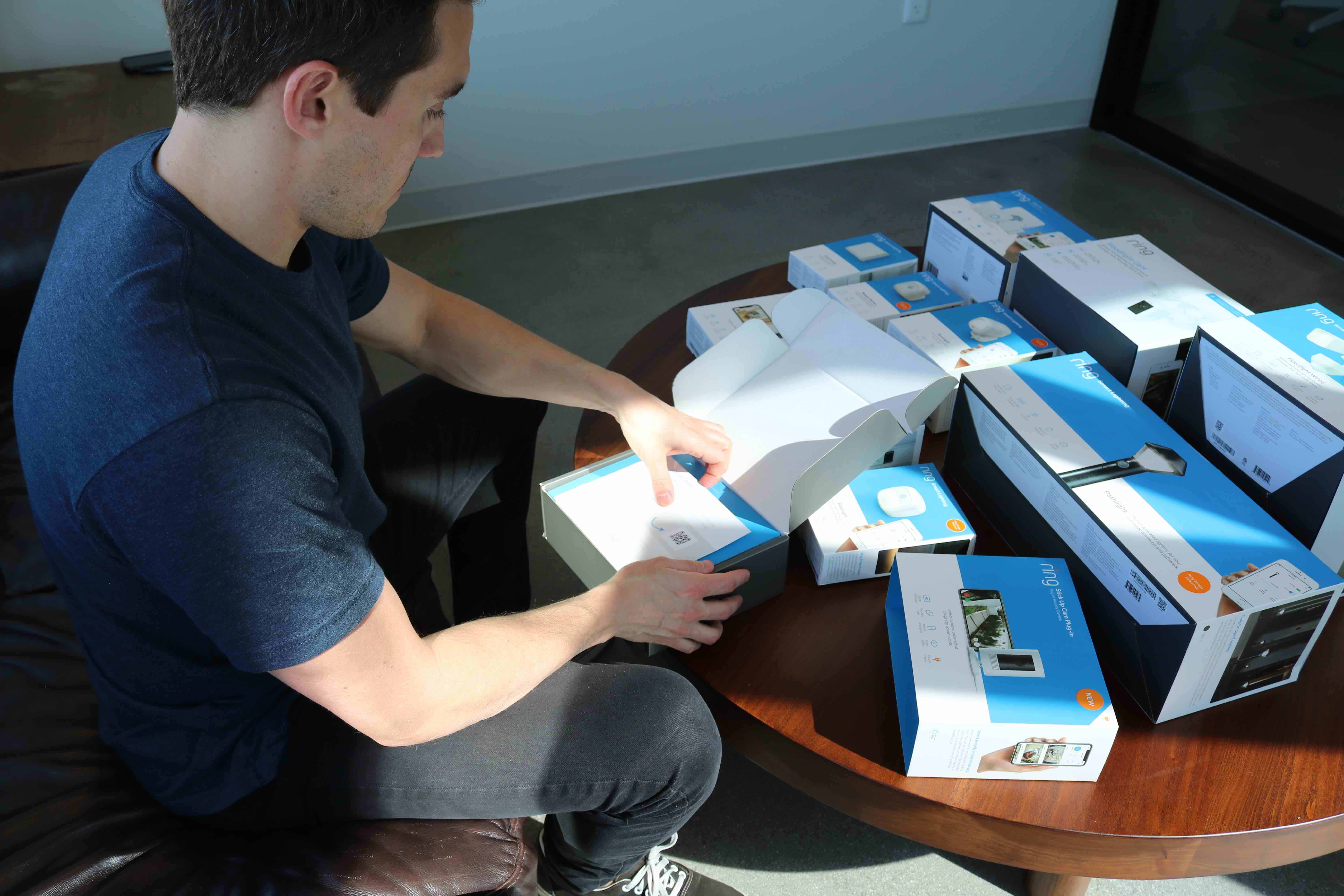 Ring Security System Unboxing