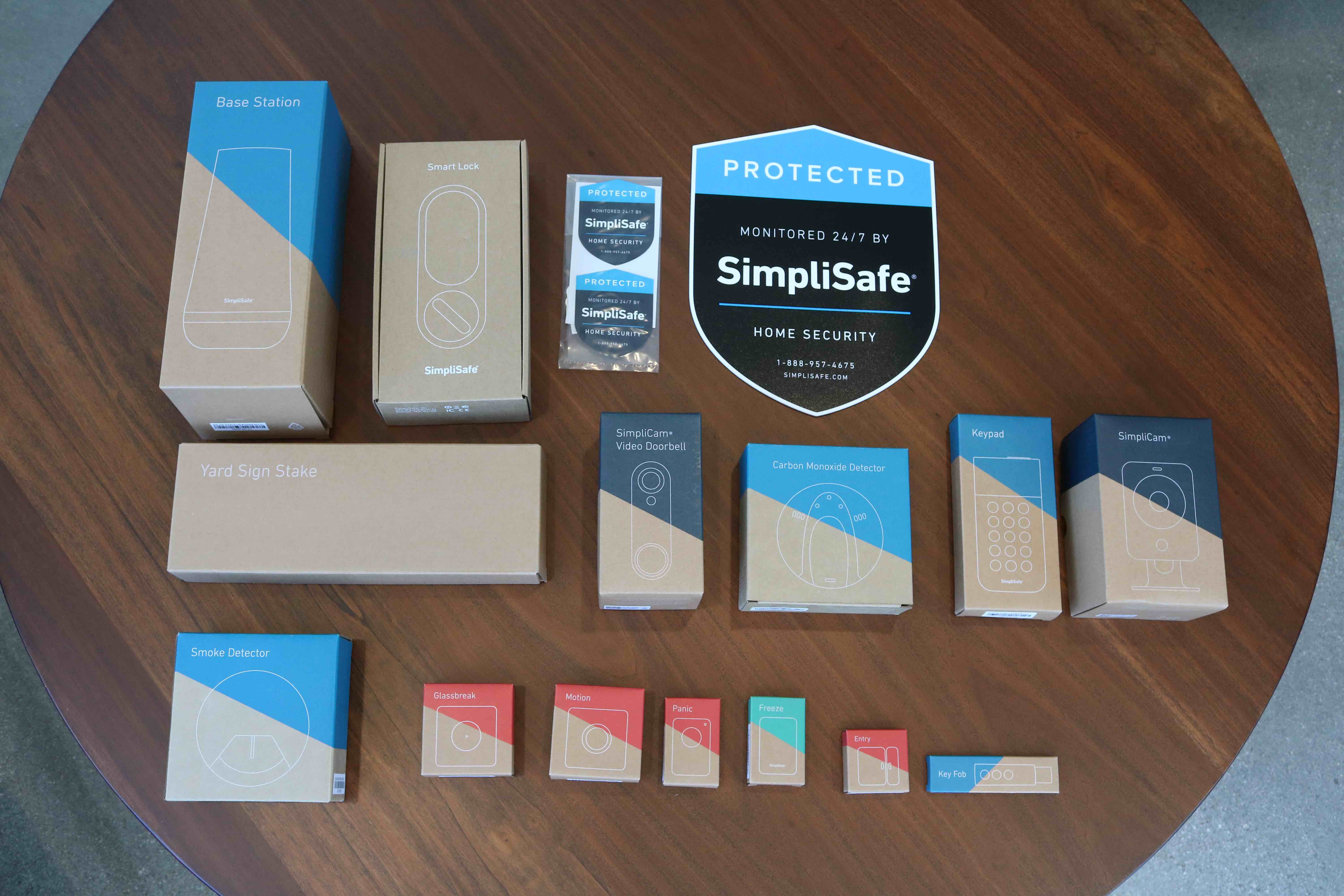 SimpliSafe Package