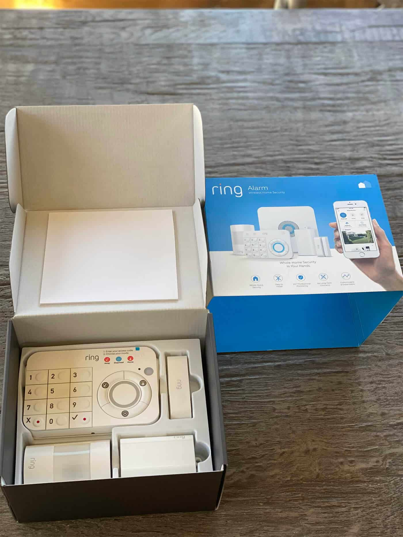 Ring Wireless Home Security System
