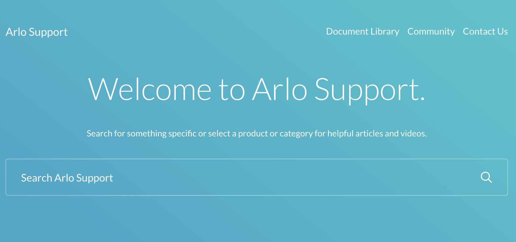 Arlo Customer Support