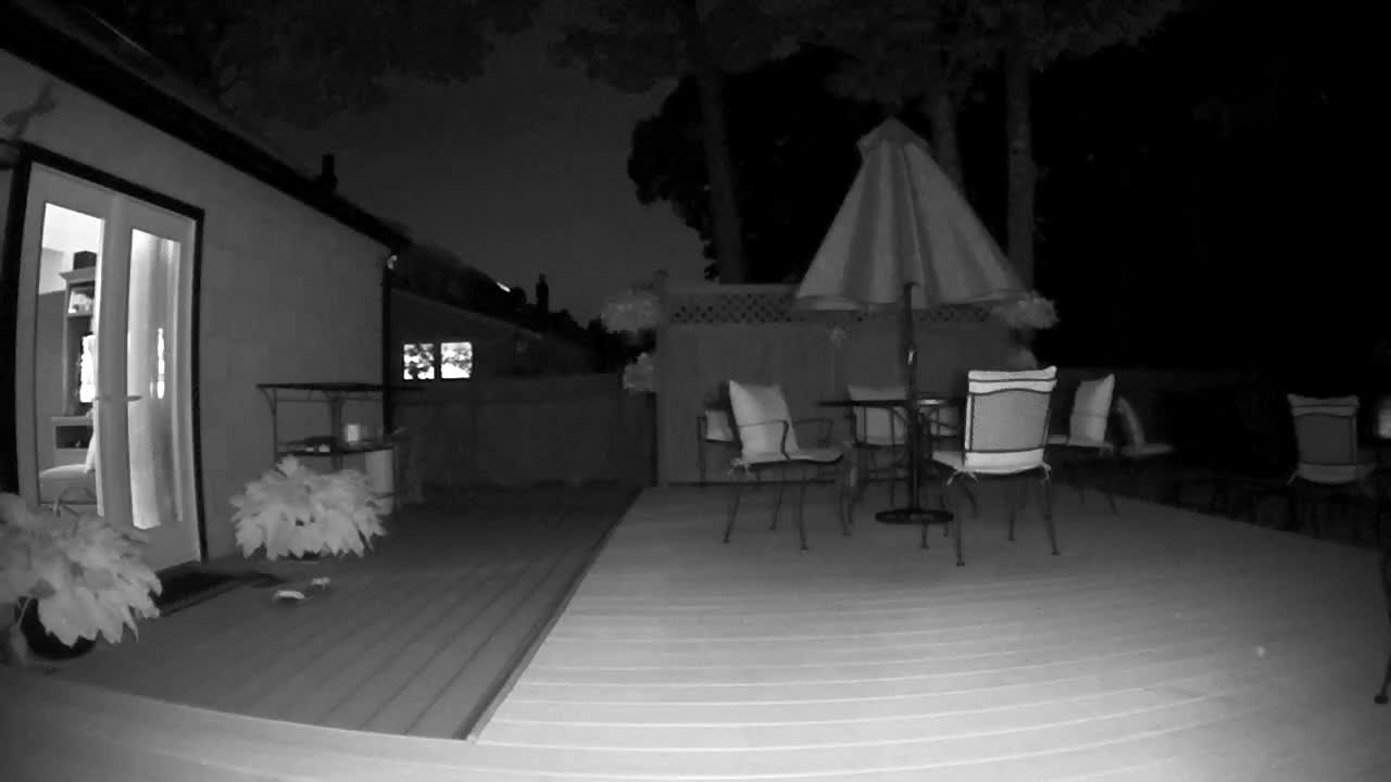 Arlo's Infrared Night Vision