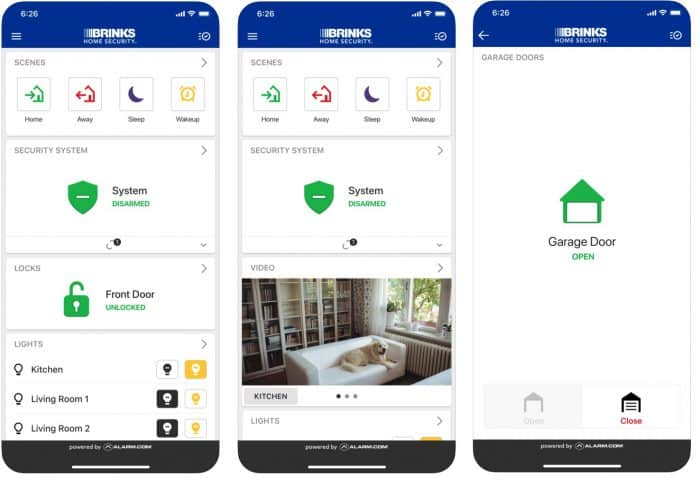 Brinks Home Security App
