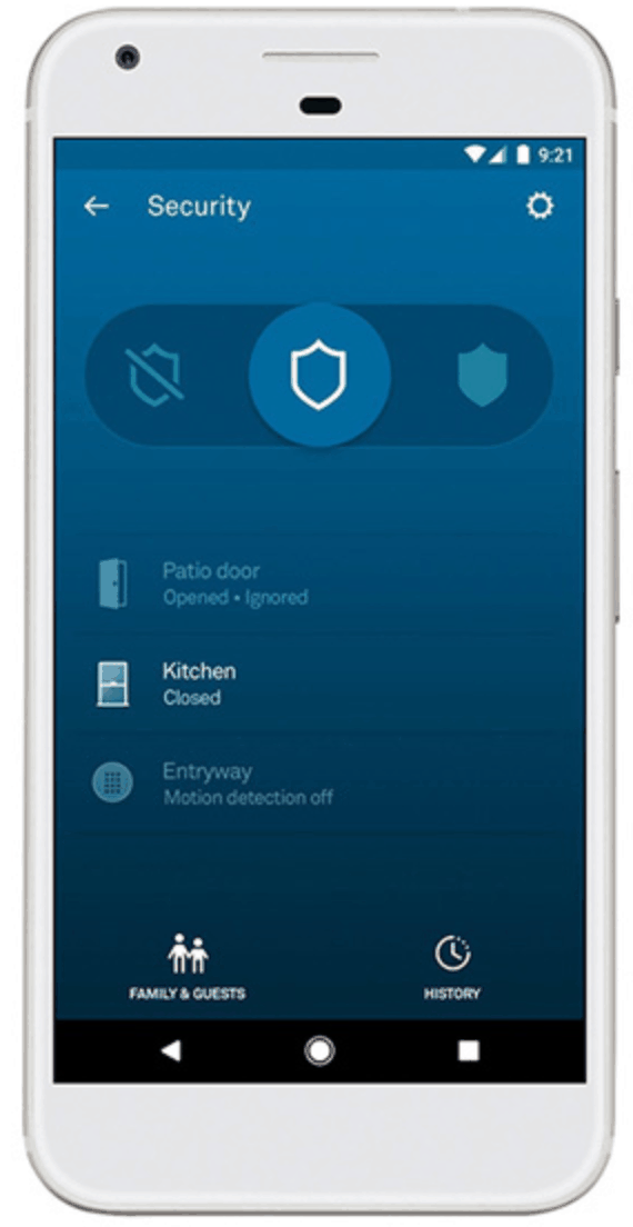 Nest Secure Alarm App