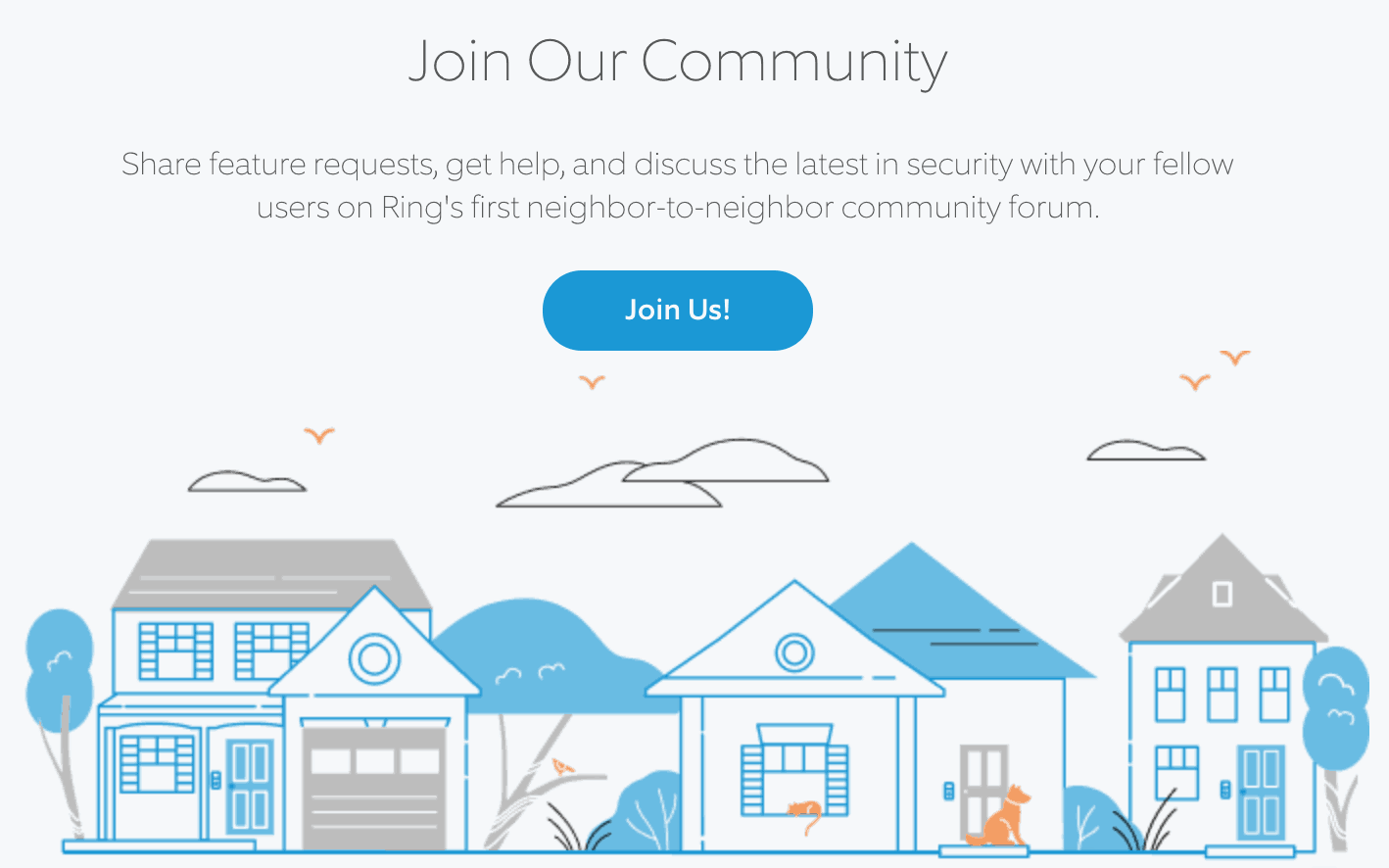 Ring Online Support Community
