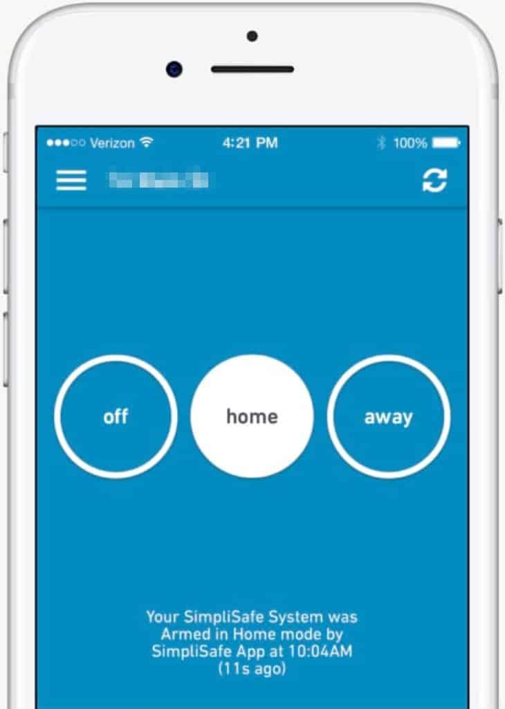 SimpliSafe's App