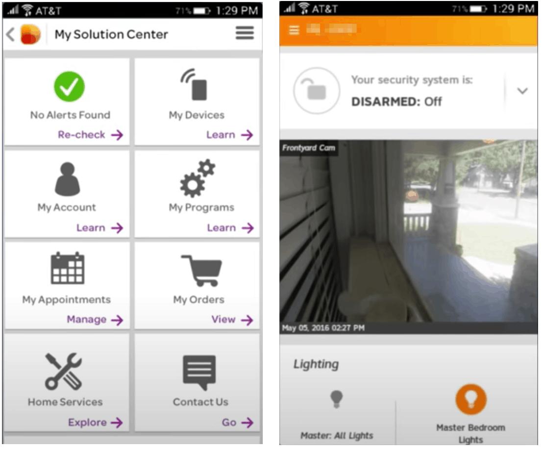 AT&T Digital Life Mobile App