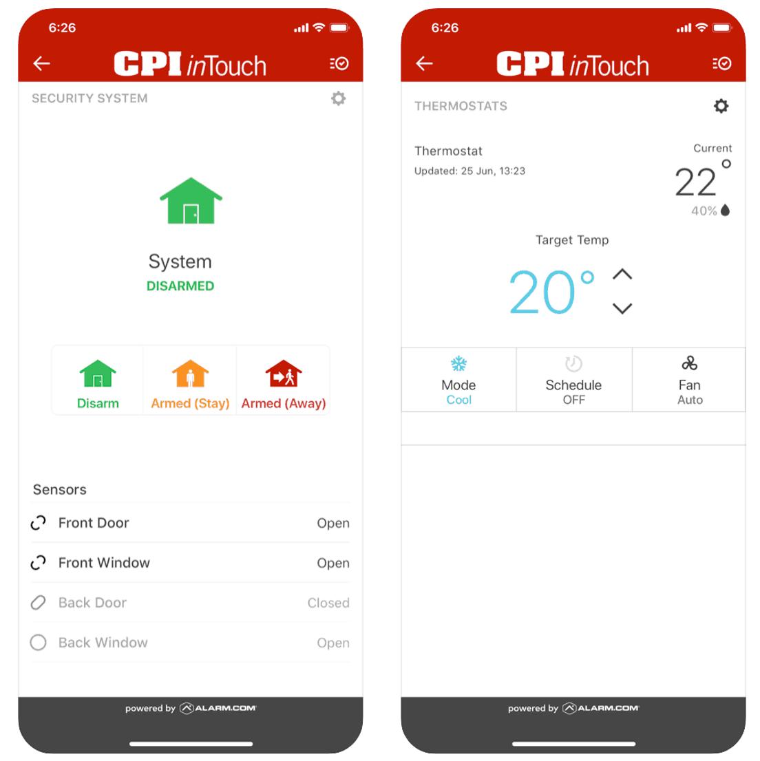 CPI Security - Mobile App