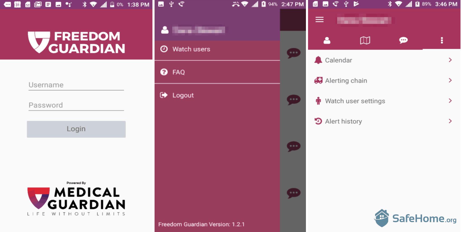 Freedom Guardian App