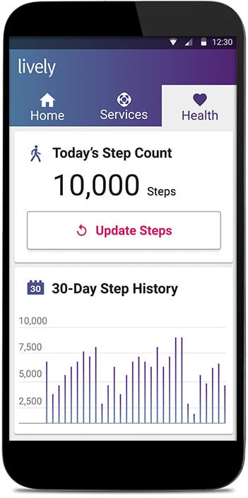 GreatCall Fitness Tracker Steps
