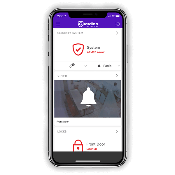 Guardian Protection Mobile App