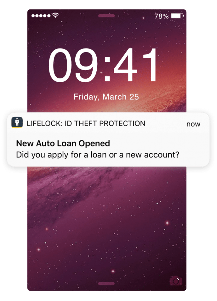 LifeLock Mobile Alerts