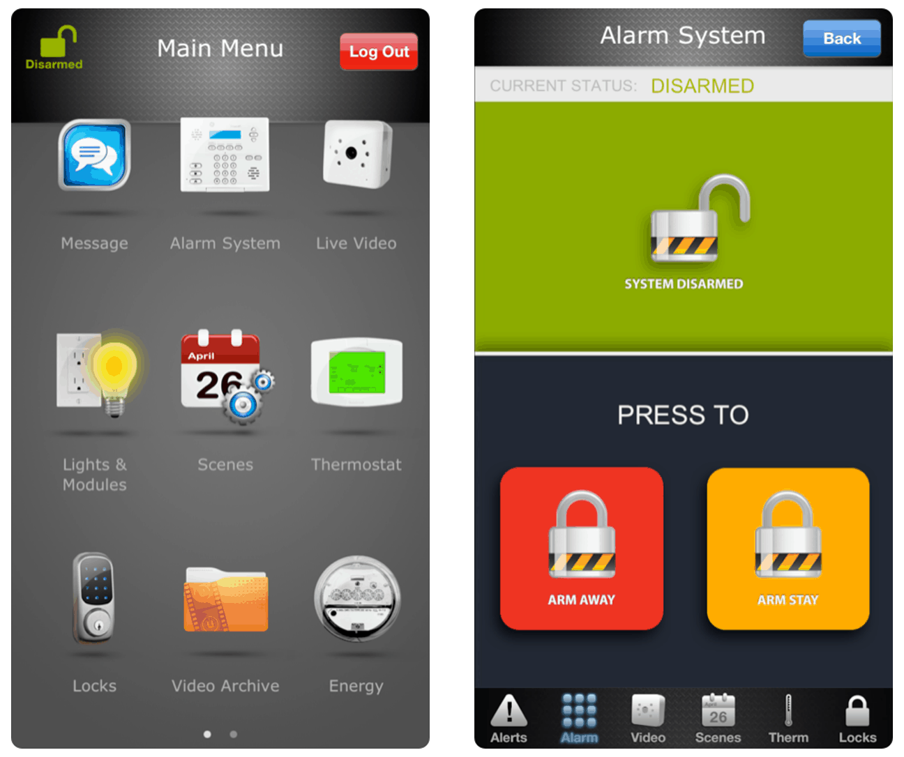 Protection 1 Mobile App
