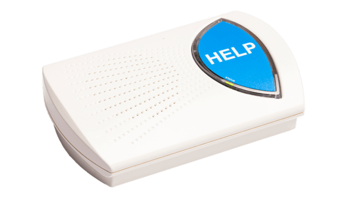 Rescue Alert Base Unit - Blue Button