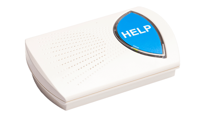 Rescue Alert Base Unit Blue Button