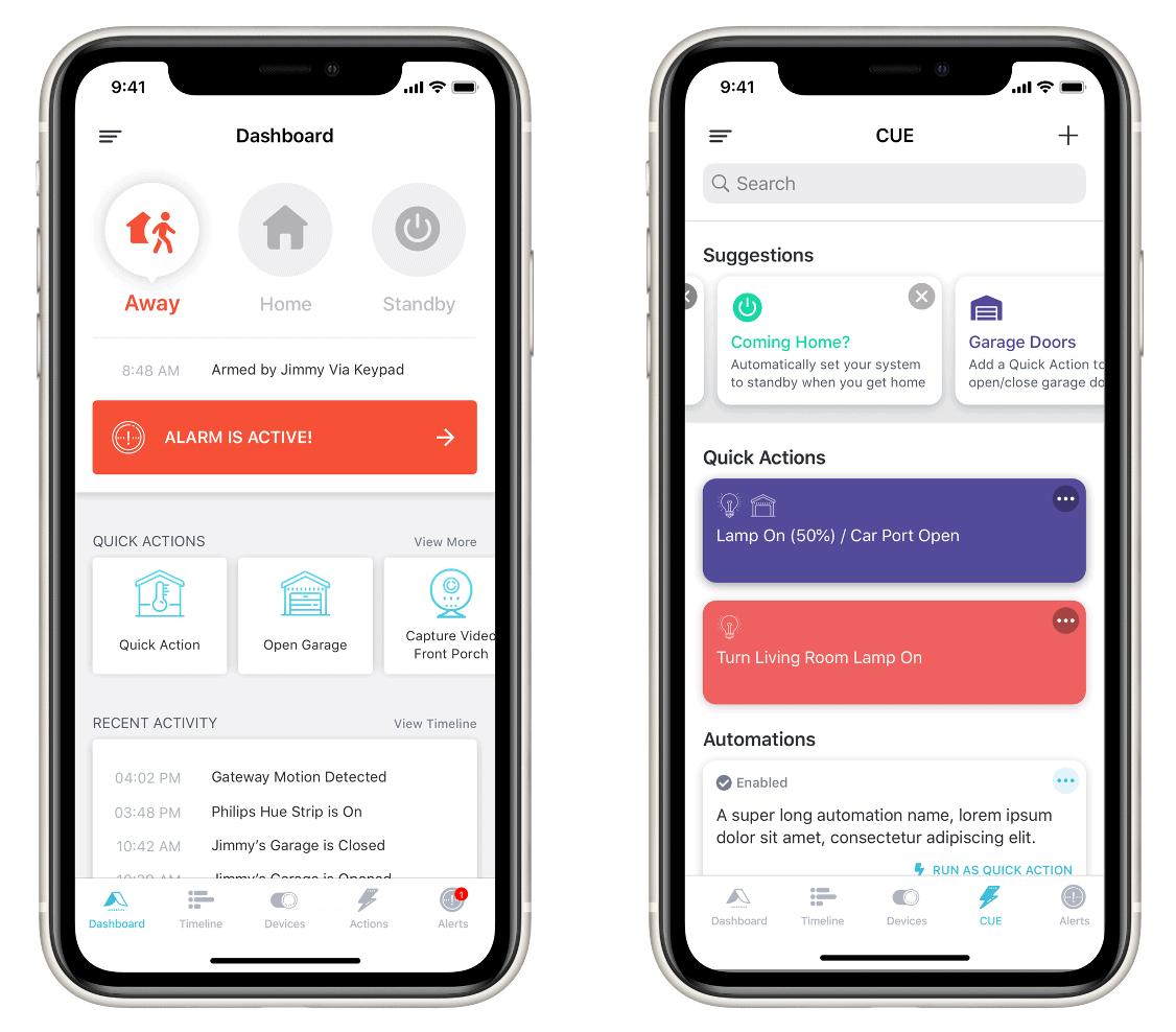 Abode App Screenshots
