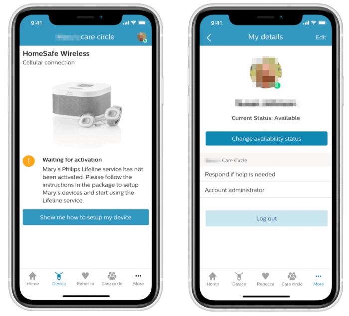 Philips LifeLine - Philips Cares Mobile App