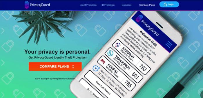PrivacyGuard Dashboard