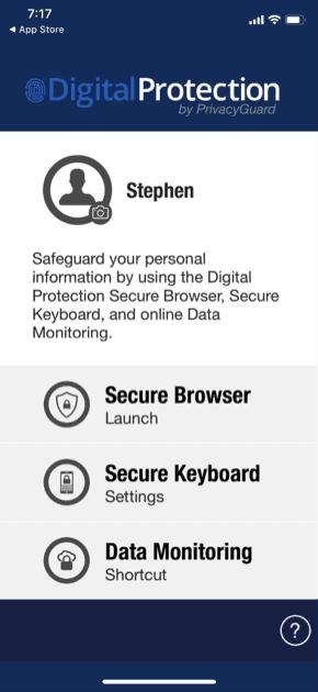PrivacyGuard DigitalProtection