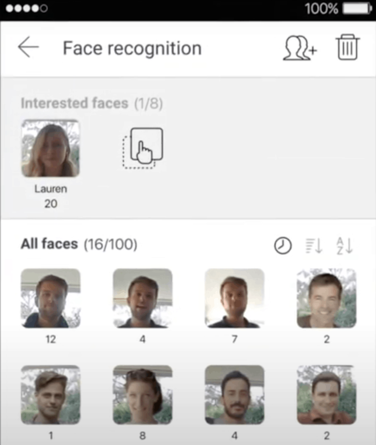 Samsung Wisenet Instant Facial Recognition