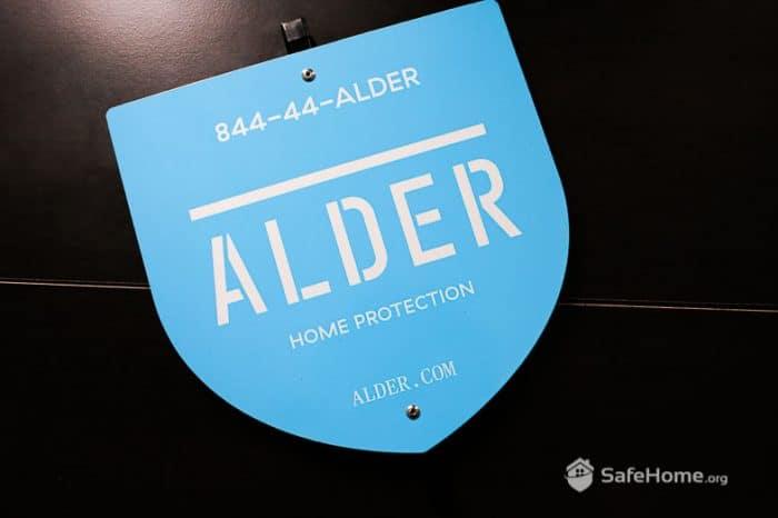 Alder Yard Sign