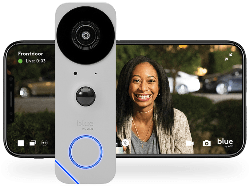Blue by ADT doorbell and App