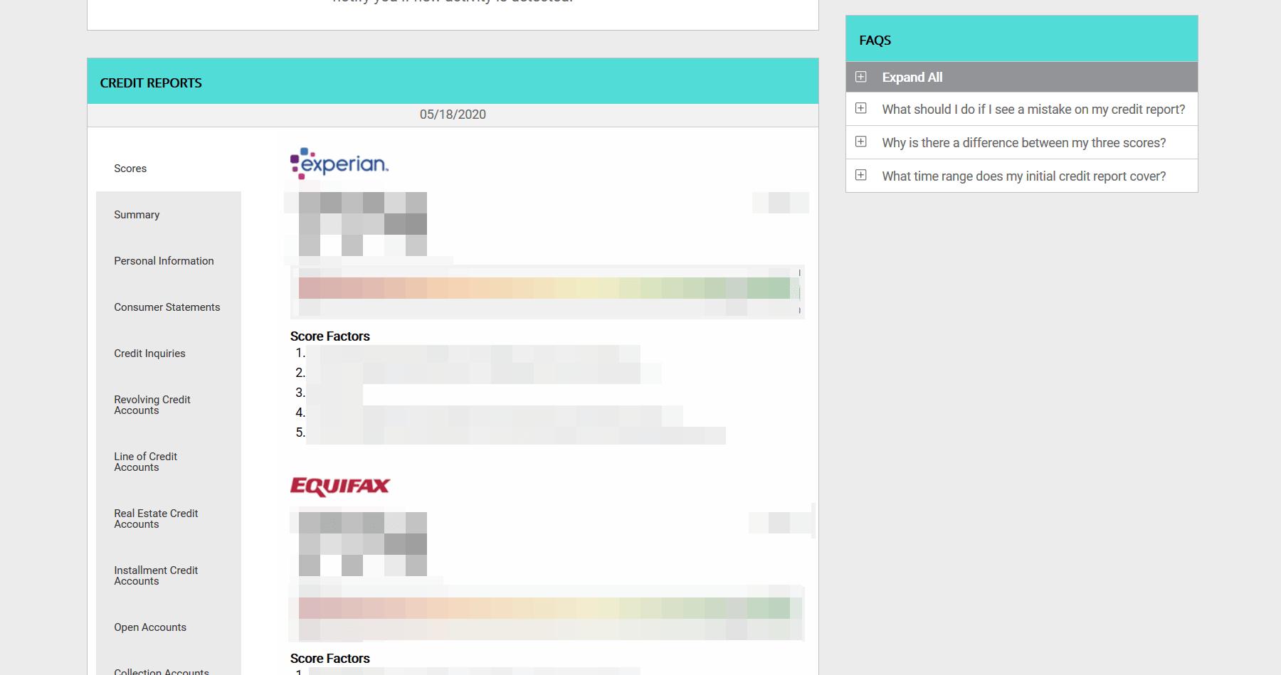 IDnotify - Credit Reports