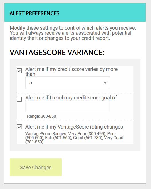 IDnotify - Customize Alert Preferences