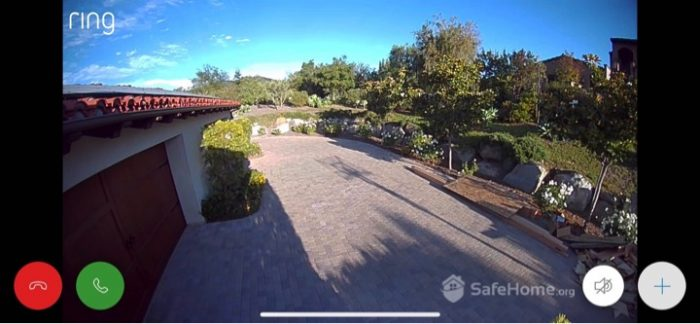 Ring Spotlight Cam Video Quality (Day)