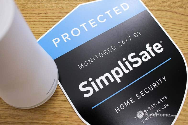 SimpliSafe - Yard Sign