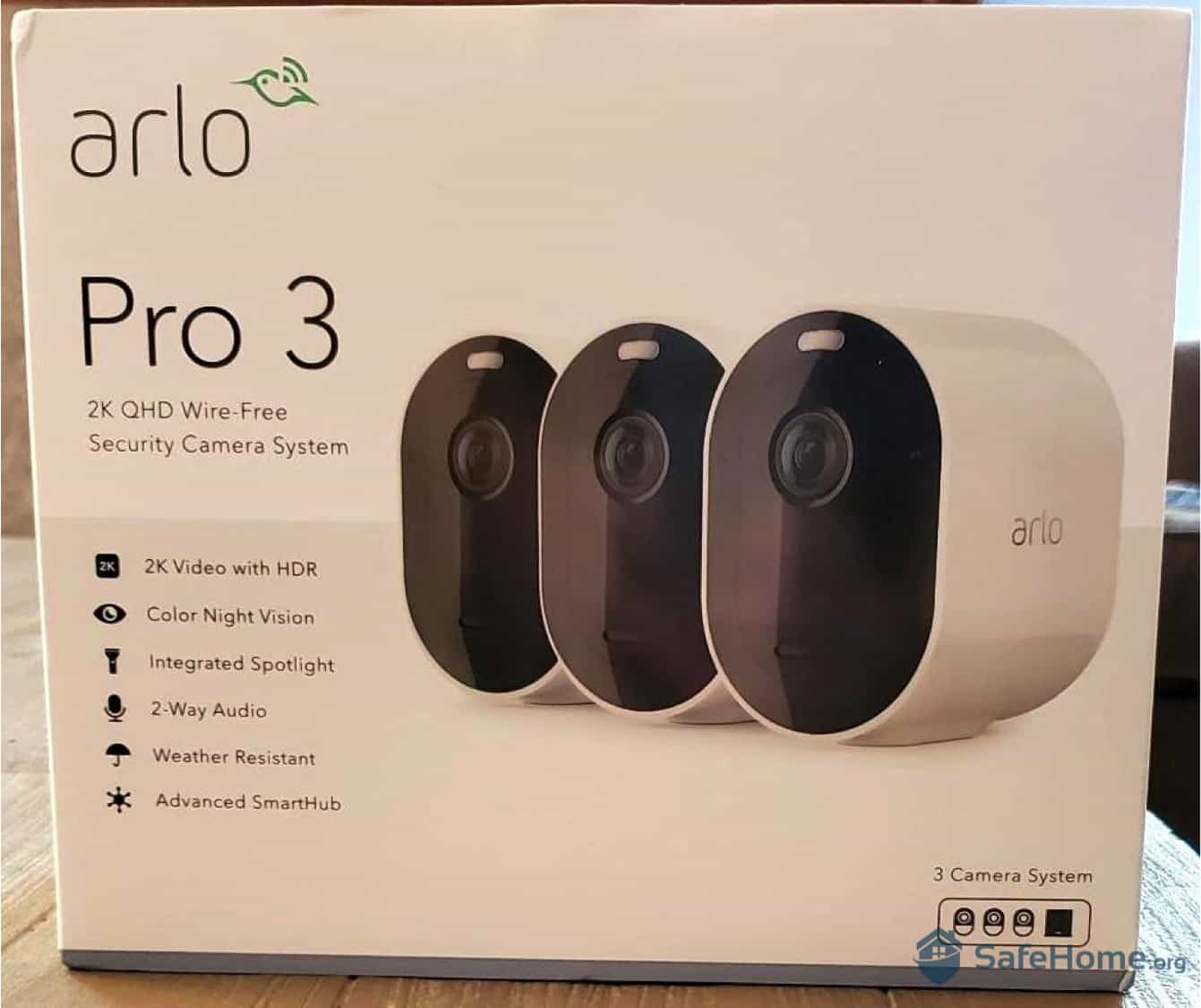 Arlo Pro 3 Packaging