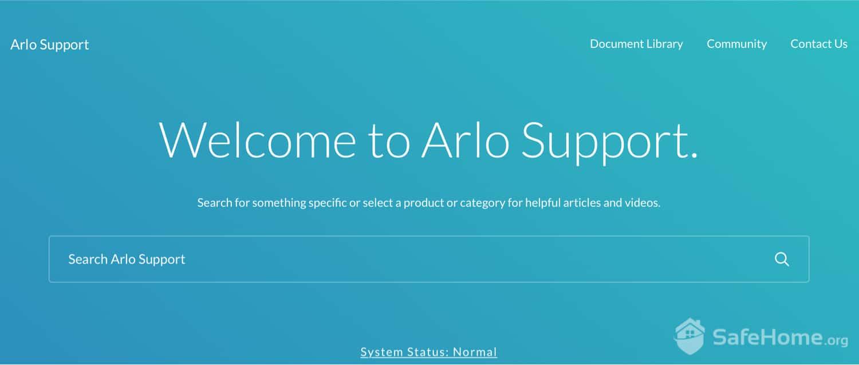 Arlo Support