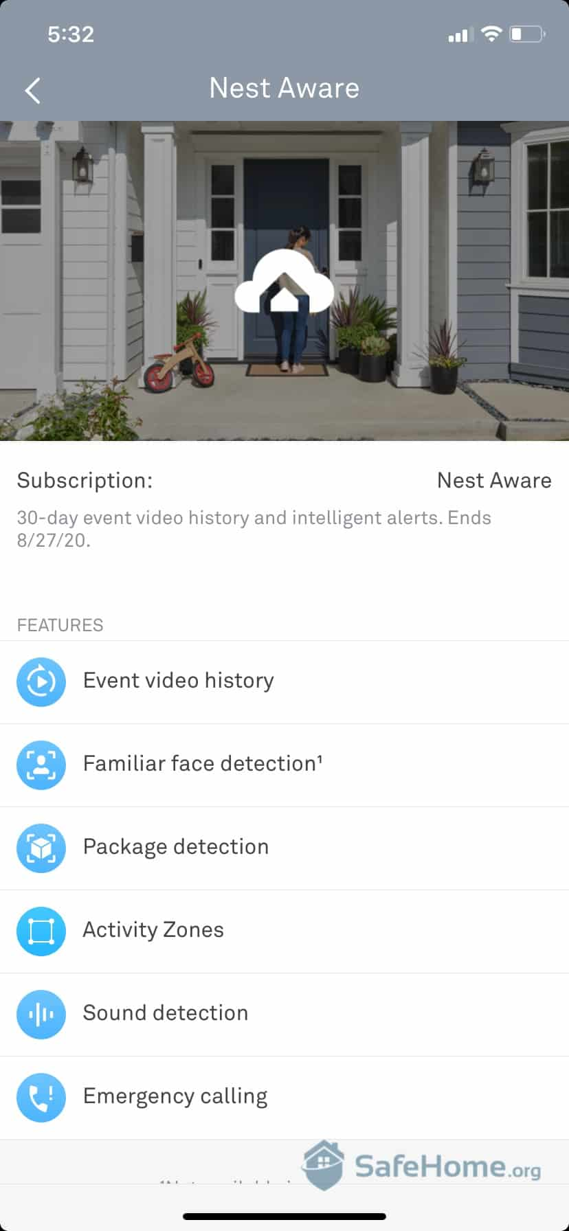 Nest App Subscription