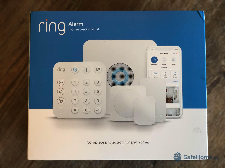 Ring Alarm (2nd Gen) Packaging