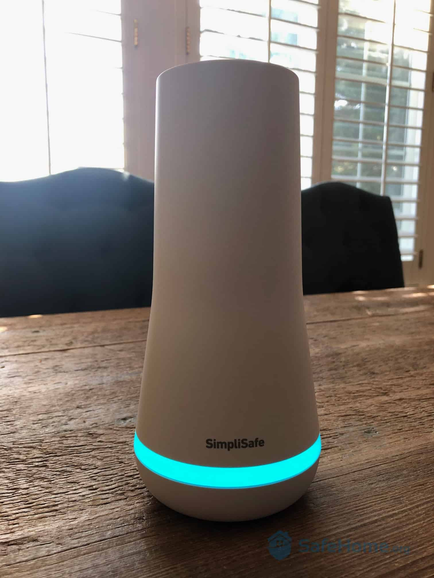 SimpliSafe Base Station Closeup