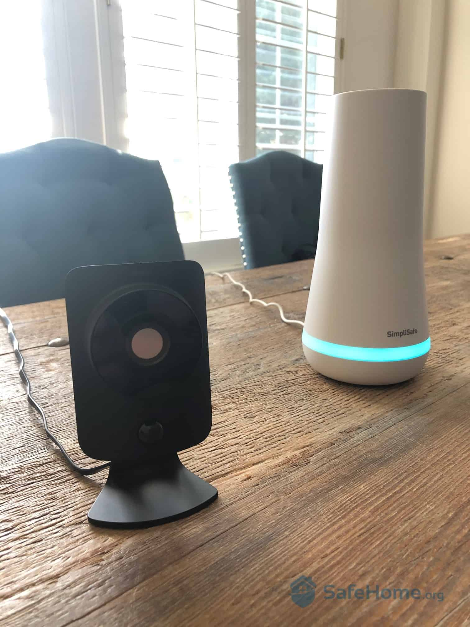 SimpliSafe Camera and Base Station