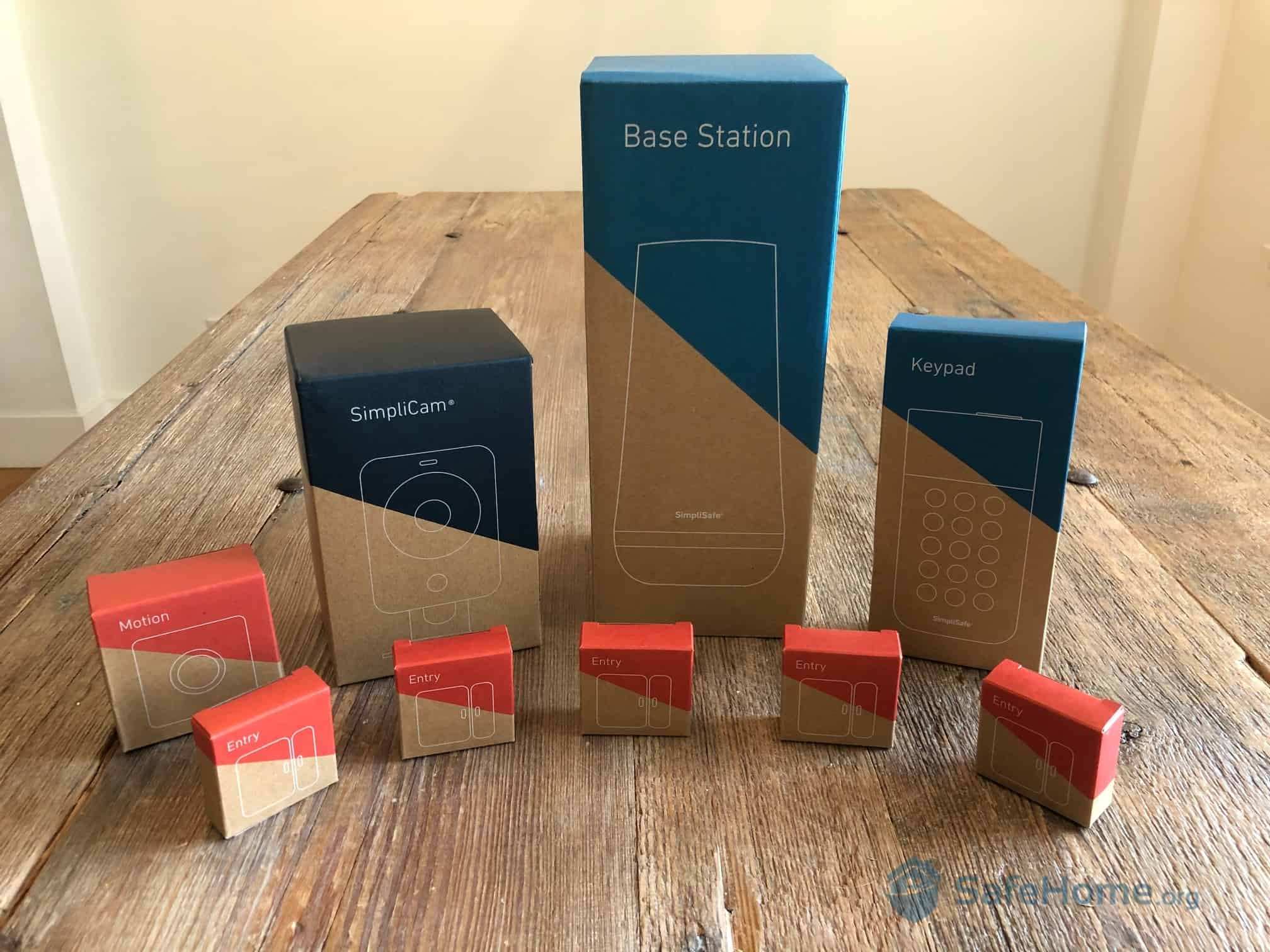 SimpliSafe Packaging